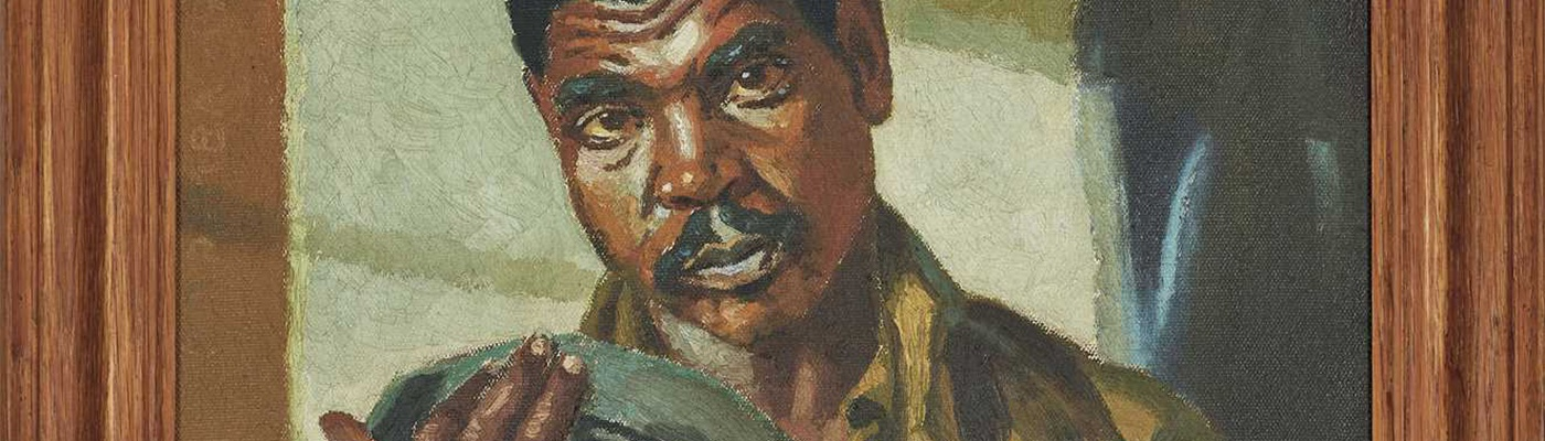 Aspire Art Auctions to offer rare portrait by George Pemba in Cape Town Auction