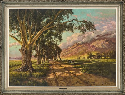 Lot 21 - Tinus De Jongh  (South Africa 1885-1942)