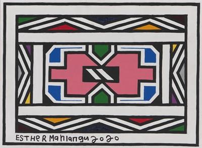 Lot 15 - Esther Mahlangu (South Africa 1935-)