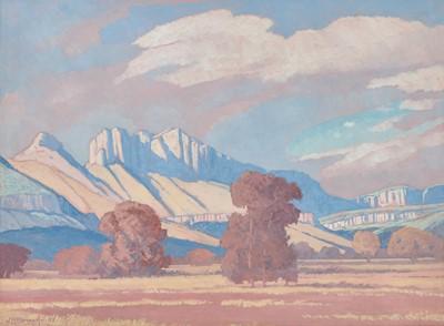 Lot 22 - Jacobus Hendrik Pierneef (South Africa 1886-1957)