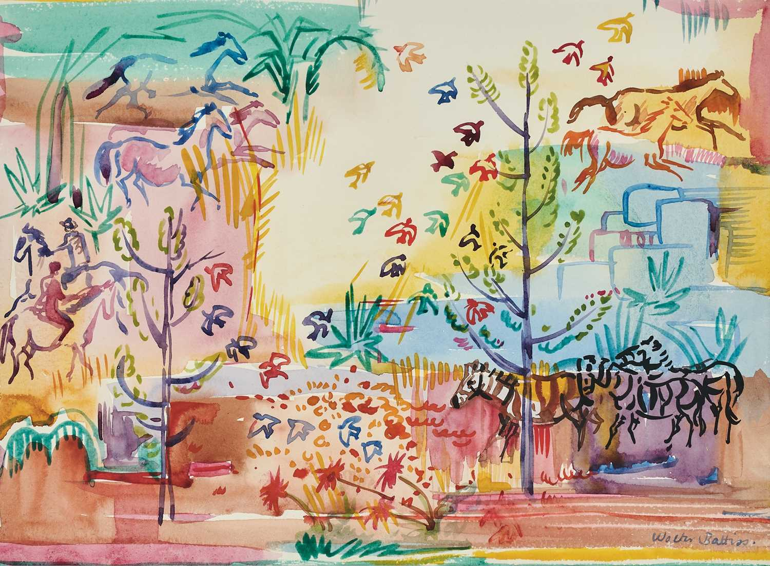 Lot 8 - Walter Whall Battiss (South Africa 1906-1982)
