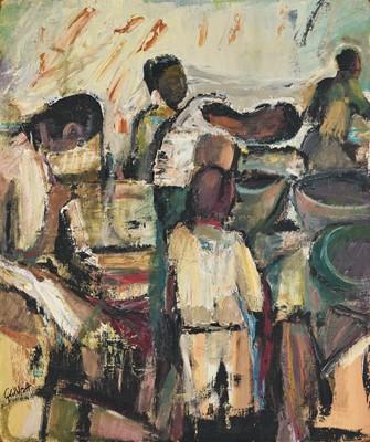 Lot 34 - Sidney Goldblatt (South Africa 1919-1979)
