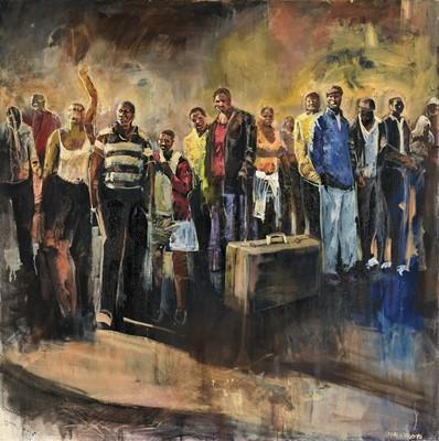 Lot 65 - Ricky Dyaloyi (South Africa 1983-)