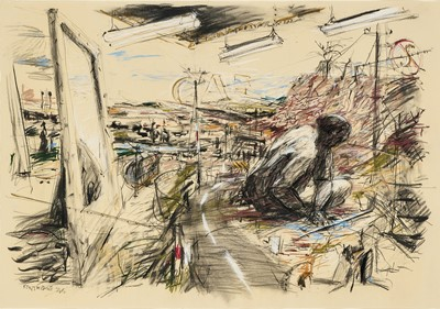 Lot 9 - William Kentridge (South Africa 1955-)