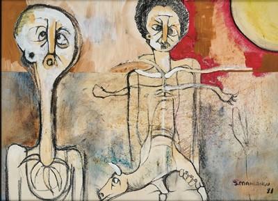 Lot 83 - Speelman Mahlangu (South Africa 1958-2004)