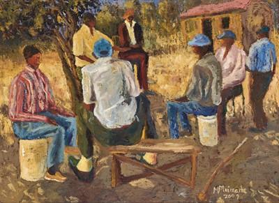 Lot 66 - Michael Maimane (South Africa 1961-)