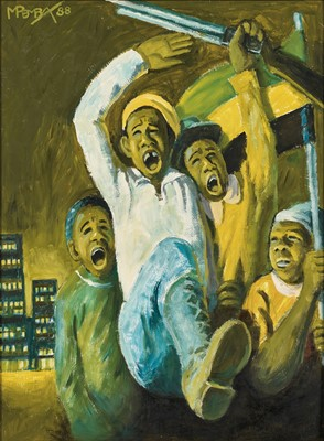 Lot 53 - George Pemba (South Africa 1912-2001)