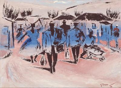 Lot 23 - Gerard Sekoto (South Africa 1913-1993)