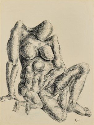 Lot 75 - Durant Sihlali (South Africa 1935-2004)