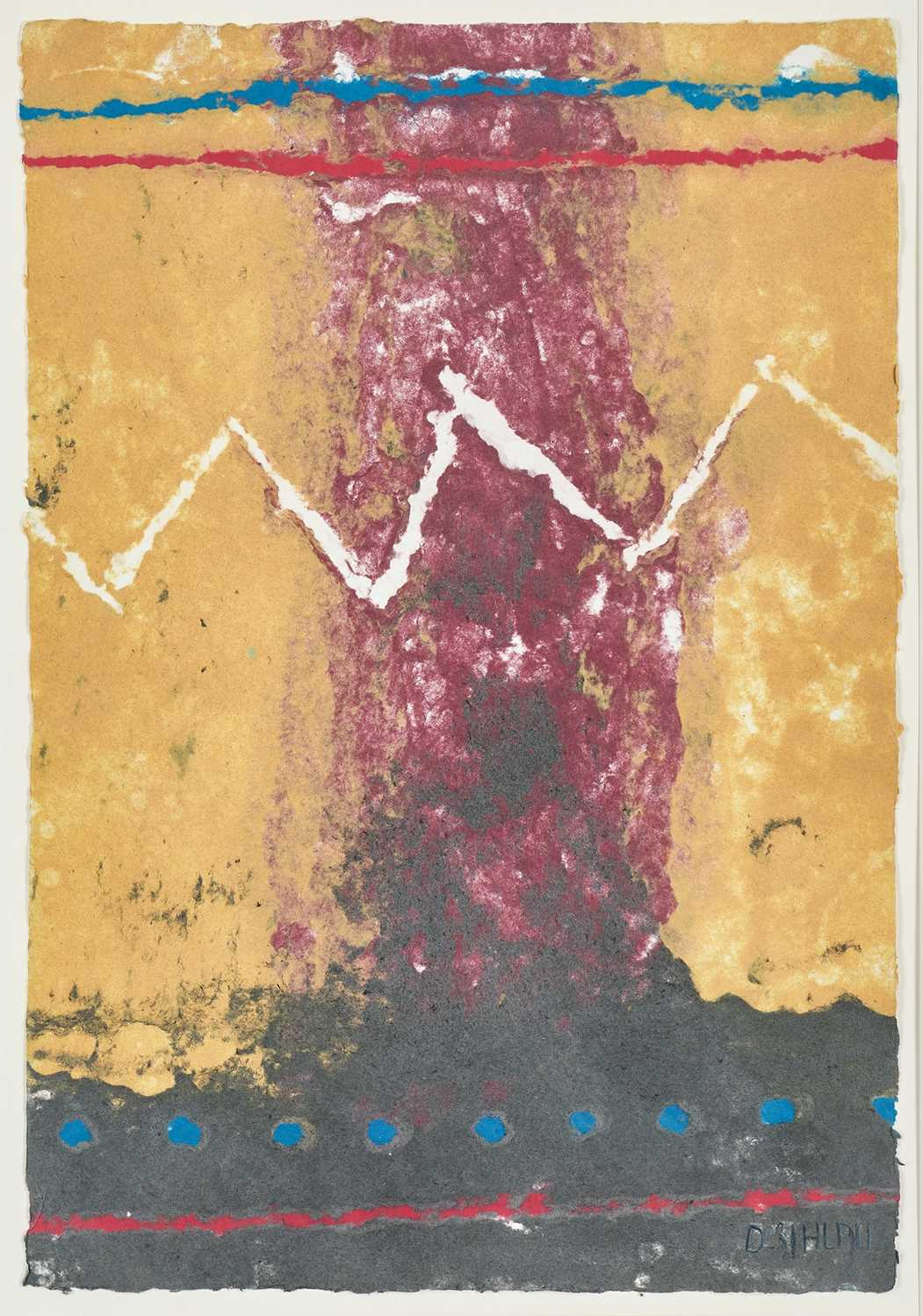 Lot 4 - Durant Sihlali (South Africa 1935-2004)