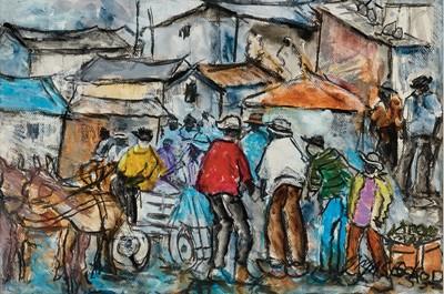 Lot 92 - Joe Maseko (South Africa 1940-2008)