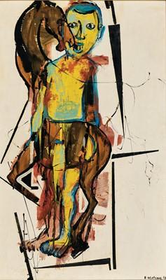 Lot 18 - Ephraim Ngatane (South Africa 1938-1971)
