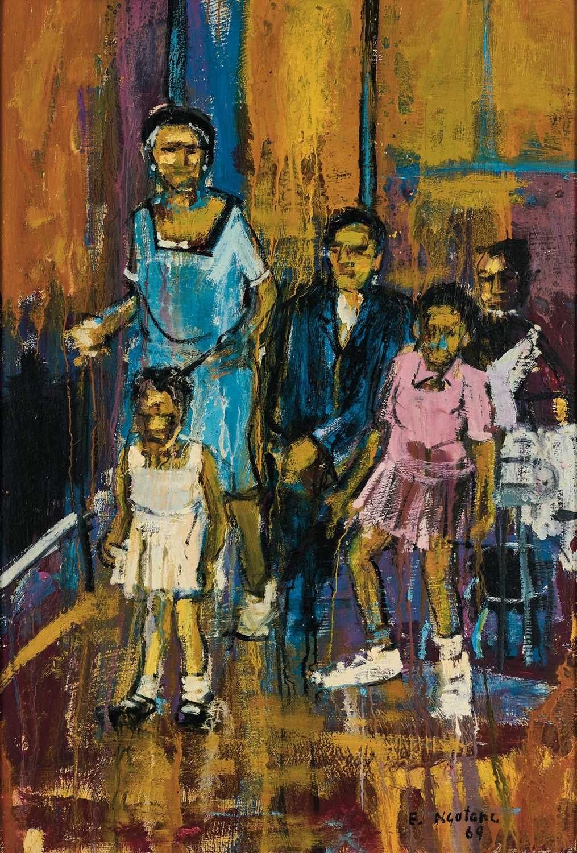 Lot 16 - Ephraim Ngatane (South Africa 1938-1971)