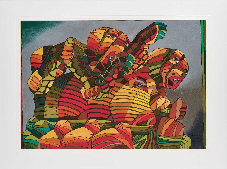 Lot 5 - Leonard Matsoso (South Africa 1949-)