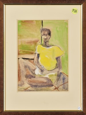 Lot 10 - Louis Maqhubela (South Africa 1939-)