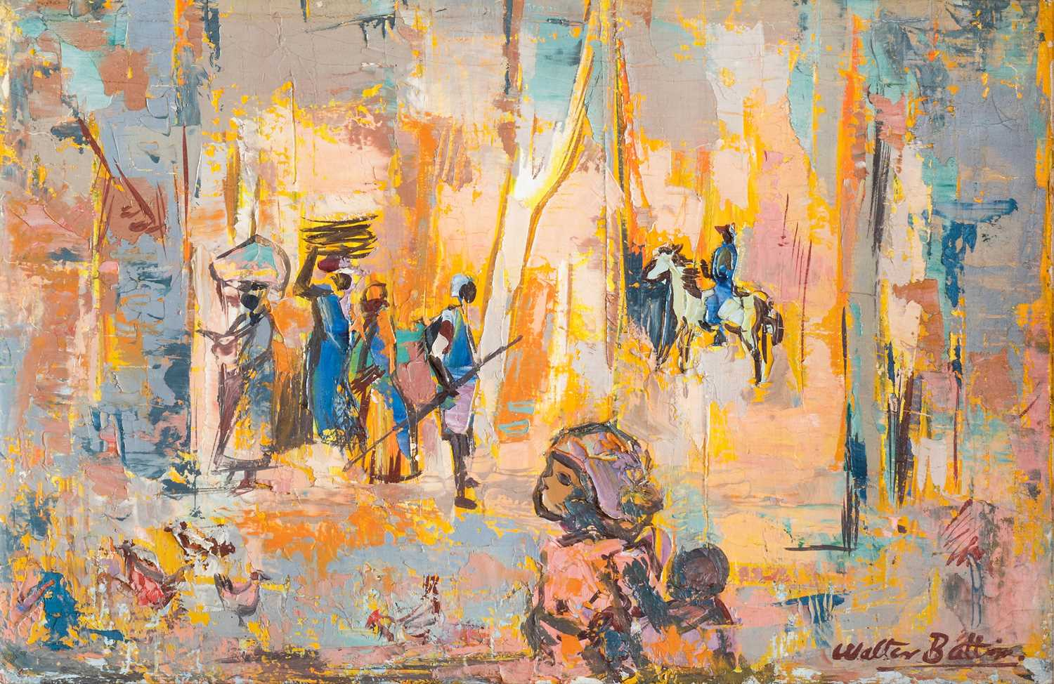 Lot 14 - Walter Whall Battiss (South Africa 1906-1982)