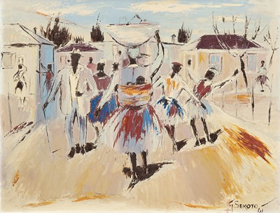 Lot 24 - Gerard Sekoto (South Africa 1913-1993)