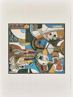 Lot 9 - Lucky  Sibiya  (South Africa 1942-1999)