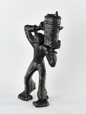 Lot 48 - M Makankame (South Africa 20th Century)